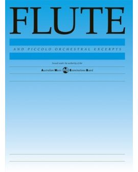 Flute And Piccolo Orchestral Excerpts AMEB